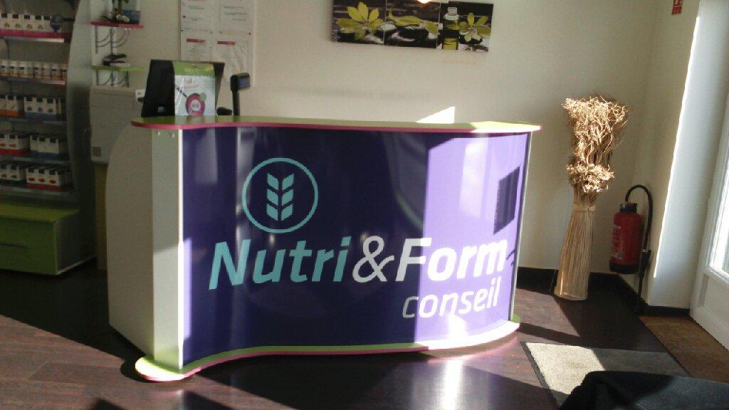 Comptoir d'accueil Nutri&Form conseil
