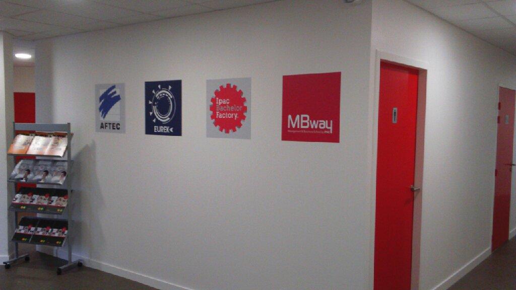 logos adhésif mural