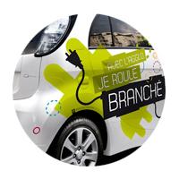 Marquage de voiture citadine, berline ou petit utilitaire