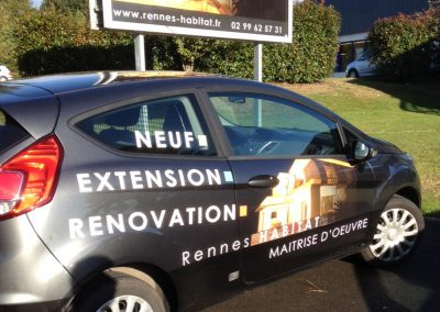 Rennes Habitat – véhicule et 4×3