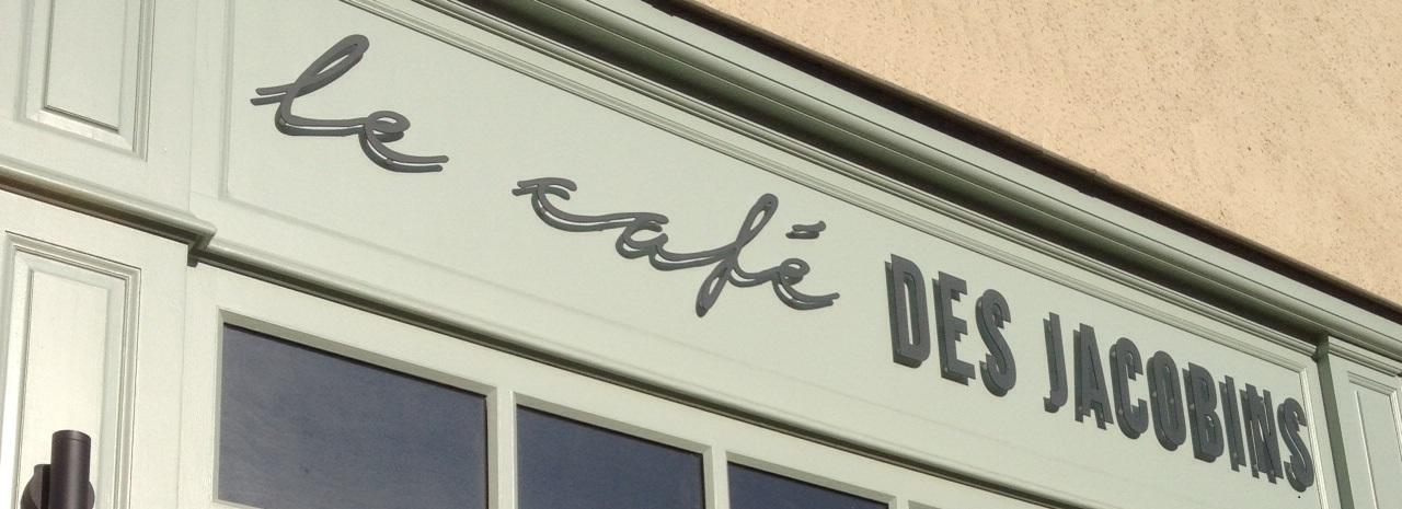 Decograph Publicite - cafe des jacobins à Rennes 1