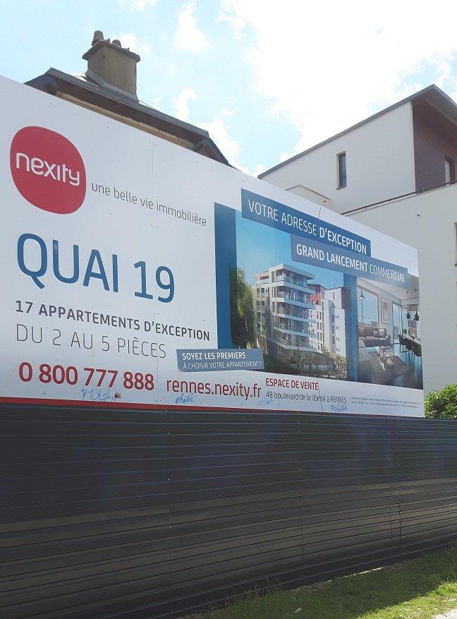 Decograph Publicite Rennes - 8x3 & palissade