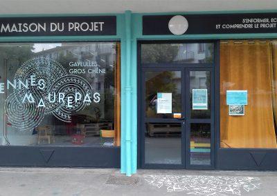 VILLE DE RENNES : Lettres Découpées et Décoration Adhésive